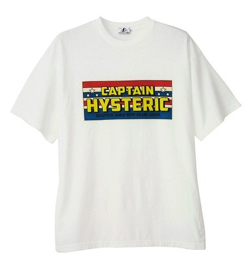 HYSTERIC GLAMOUR CAPTAIN HYS Tシャツ