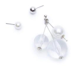 ROOM balance clear earring