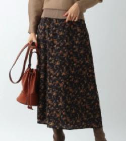 Andemiu ハナガラロングスカート