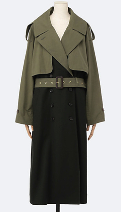 STUMBLY COMBINATION TRENCH COAT