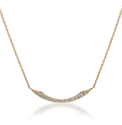 STAR JEWELRY K18 ネックレス DIAMOND SHOOTING STAR NECKLACE