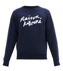 MAISON KITSUNÉ ロゴプリント スウェットシャツ
