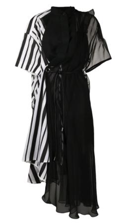 Sacai デコンストラクテッド ドレス