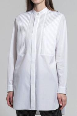 MACKINTOSH LONDON ハイカウントブロードスタンドカラーシャツ