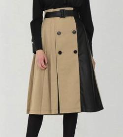 LOVELESS タック トレンチ スカート