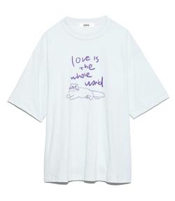 FURFUR プリントTシャツ