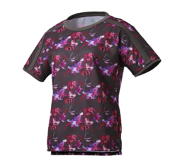 DESCENTE フラワーグラフィック 半袖Tシャツ