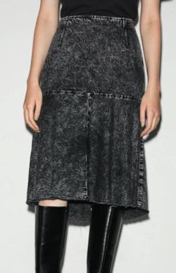 MOUSSY 20/PANEL MARMAID DENIM スカート