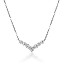 STAR JEWELRY Pt950 ネックレス DIAMOND NECKLACE