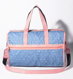 LeSportsac DELUXE LG WEEKENDER デニムドット