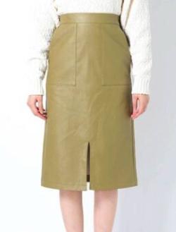 EMODA ポケットタイトミディスカート