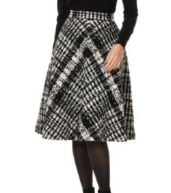 Aveniretoile COUTURE オリジナルツイードフレアスカート