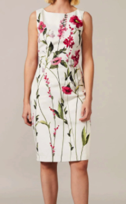 Phase Eight May Stem Rose Dress