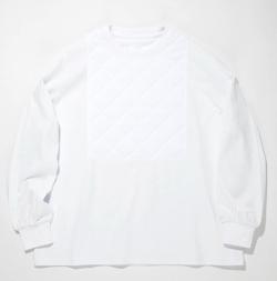 SUPERTHANKS キルトフロント ビッグロング Tシャツ