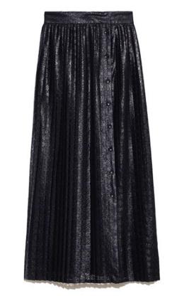 Lily Brown レースドッキングスカート