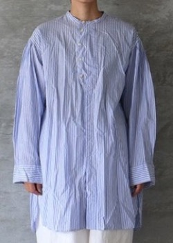 Veritecoeur  ロンドンストライプシャツ