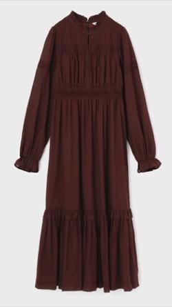 MOUSSY COTTON FLORAL ドレス