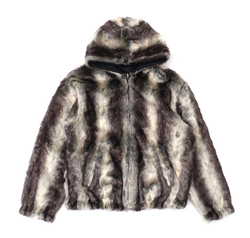 Supreme Faux Fur Reversible Hooded Jacket