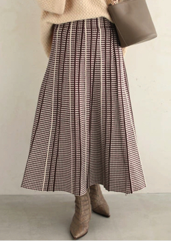 FRENCH PAVE フレアスカート