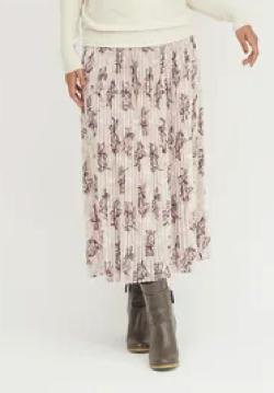 DRWCYS Winterフラワープリントスカート