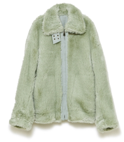 styling/ ファーフリーボンバージャケット