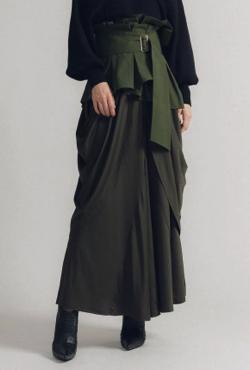 la belle Etude ベルトSETドレープスカート