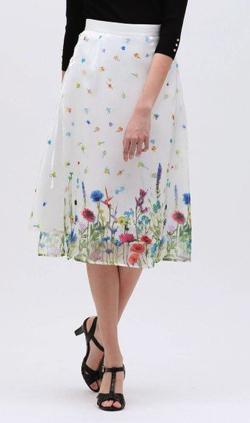 LOVELSS nowartt シアー レイヤード スカート