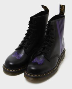 Needles × Dr.Martens 8 Holes Stripe Boot