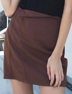 EMODA BIASラインスカート