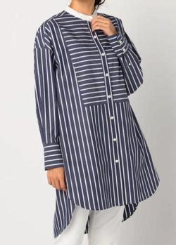 NOLLEY'S クレリックチュニックシャツ