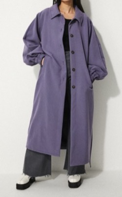 LAGUA GEM SOUTIEN COLLAR BELT COAT