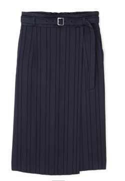 PINKY&DIANNE カラミストライプスカート
