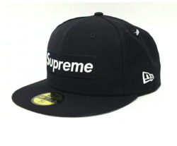 Supreme World Famous Box Logo New Era Cap