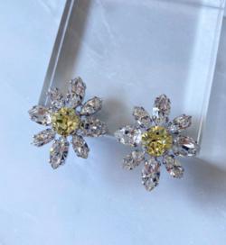 PHTHALO mini daisy ring