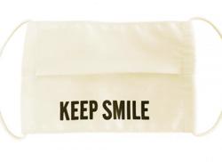 TBS オリジナルマスク/KEEP SMILE