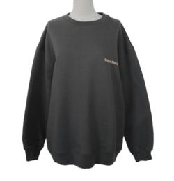 STYLENANDA ATELIER Print Round Neck Sweatshirt