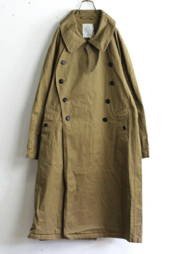 HTS COTTON DOUBLE OVER COAT