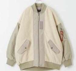 CUBE SUGAR のジャケット MA-1