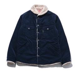 HOLLYWOOD RANCH MARKET Corduroy Boa Lining Jacket