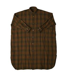 45R インドうすネルのビッグシャツワンピース