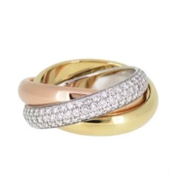 Cartier Trinity ring classic