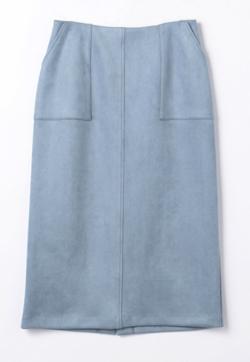Stola. スエードシンプルタイトスカート