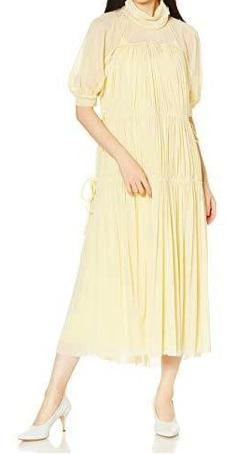 FURFUR ギャザードドレス