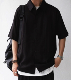 antiqua リネンシャツ・zu-00004