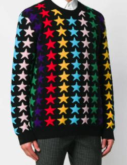GUCCI レインボースター セーター