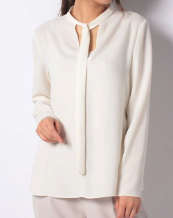 Theory PRIME GGT LS TIE NK TOP