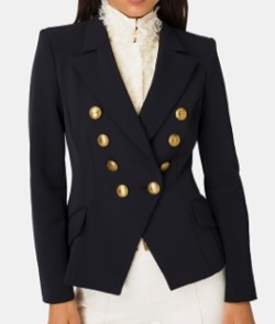 ELISABETTA FRENCHI Short jacket with buttons