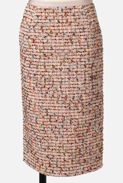 STRASBURGO モールツィードタイトスカート
