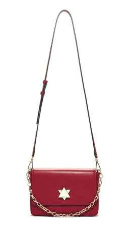 ADINA MUSE TWINKLE SHOULDER RED