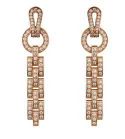 CARTIER Agrafe earrings